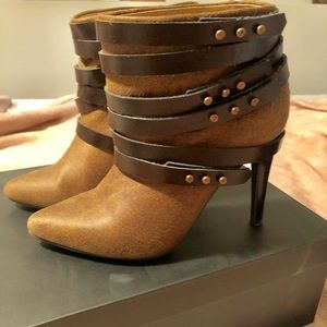 Barely used booties